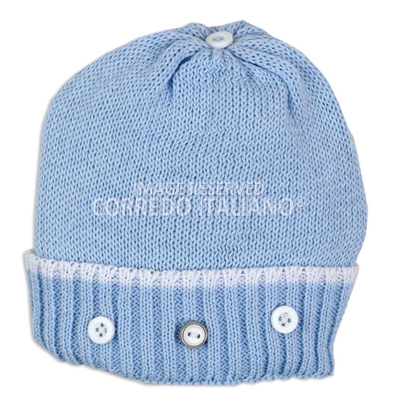 Newborn hat pure cotton art. 1601AZ