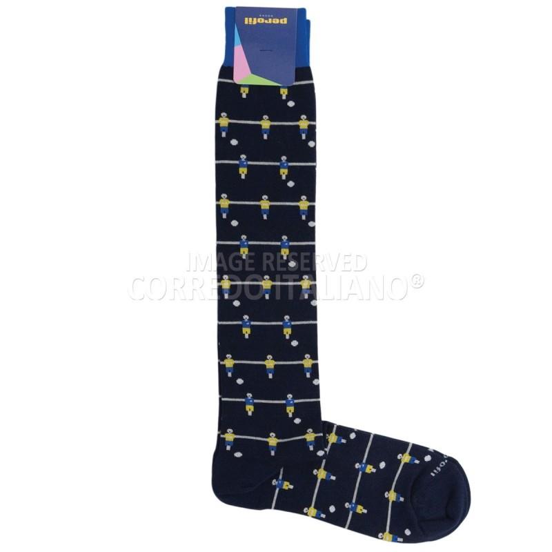 Long socks winter cotton art. PAL1093BL