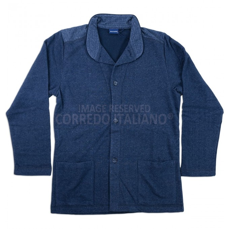 Cesar - winter cotton smoking jacket