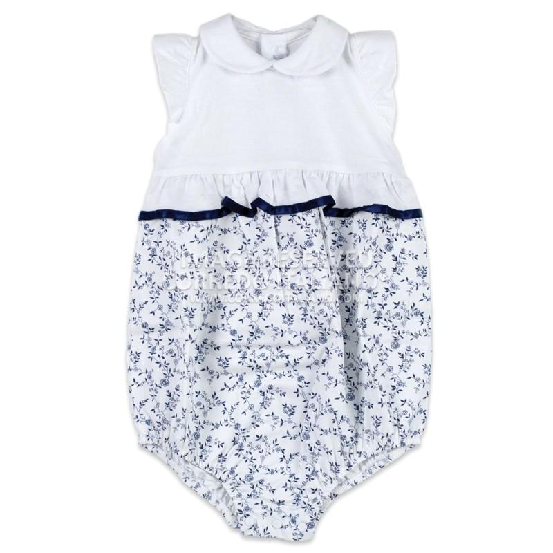 Pagliaccetto in cotone neonata Sottocoperta art. 413T00