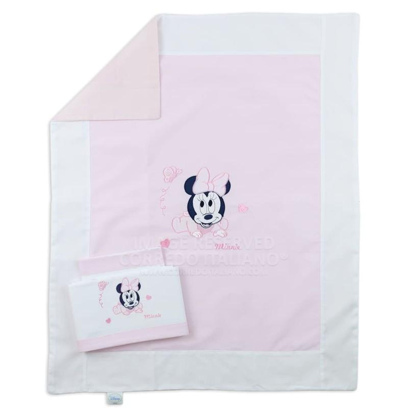 Minnie baby - Coordinato per lettino 4 PZ