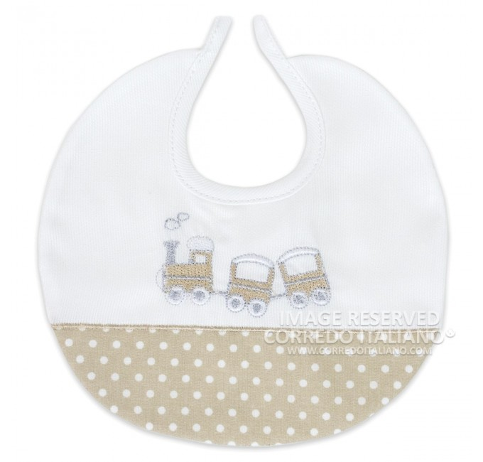 Bib in pure cotton art. CI1244