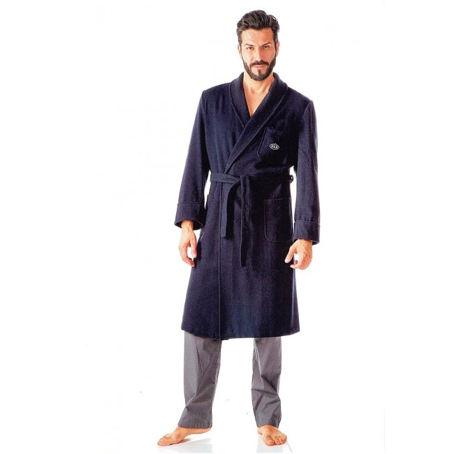 Bilbao - dressing gown wool & cachemire