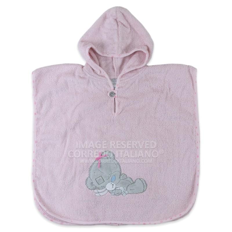 Baby bear - bathrobe poncho baby