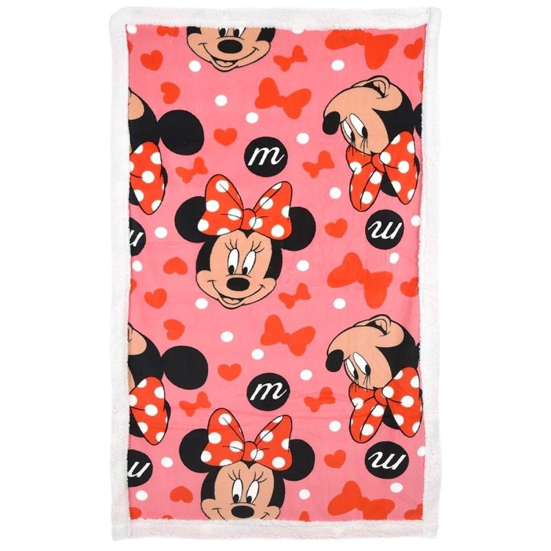 Minnie Mouse - blanket fleece 100x140 cm