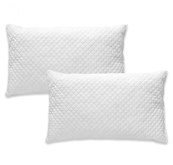 Teckno - 2-pack Internal pillowcases quilted