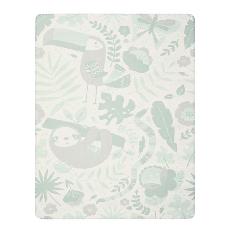Jungle - coperta in soft pile per lettino art. 733382