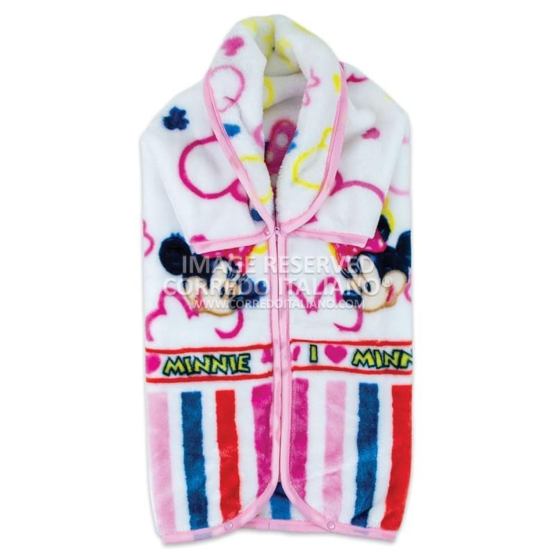 Fleece blanket for cot art. Minnie