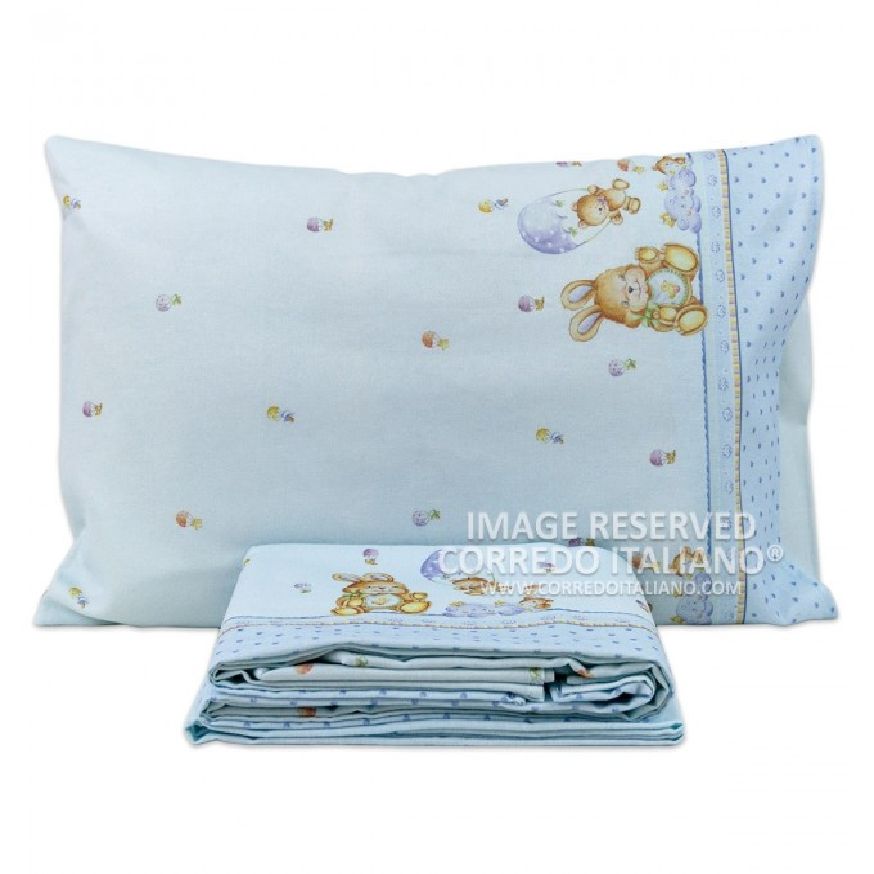 SWEET DREAMS - cot bed sheet set flannel MI047VV