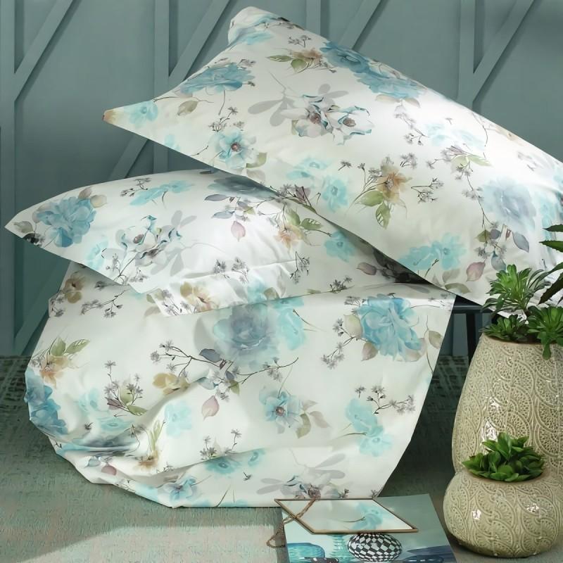 Patchouli - double queen size bed sheets percale cotton