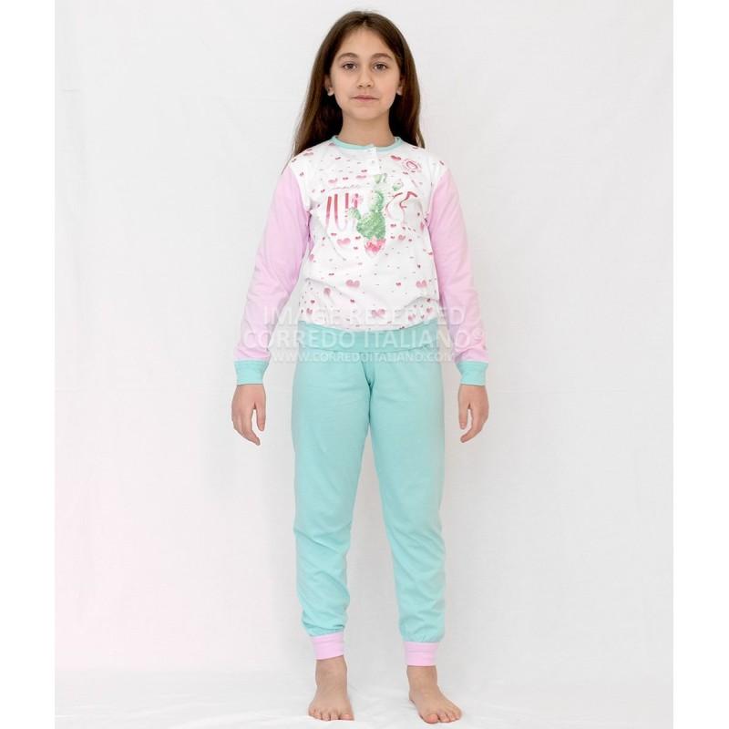 Baby girl pajamas cotton art. 1635TFY