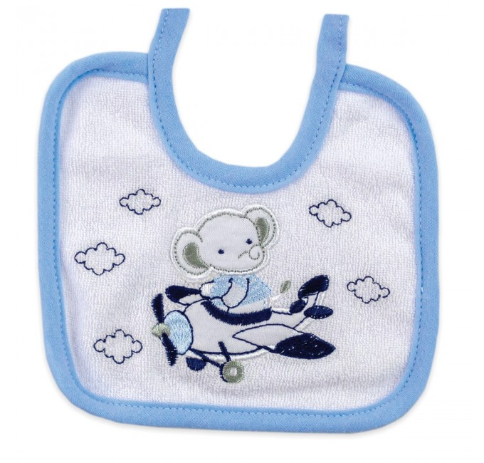 Bib in pure cotton Ellepi art. AD9615A