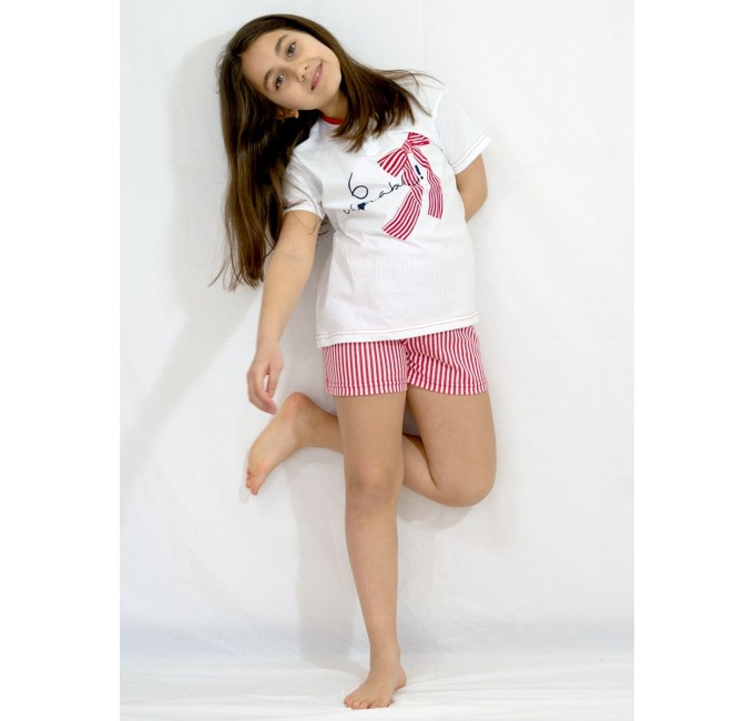Short baby girl pajamas art. 1670RS