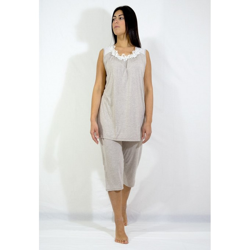 Women's pajamas short sleeves art. 4601