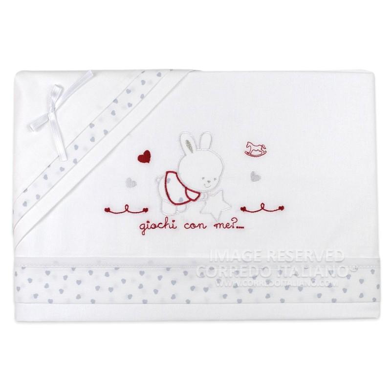 Cradle bed sheet set Mio Piccolo art. 767BL