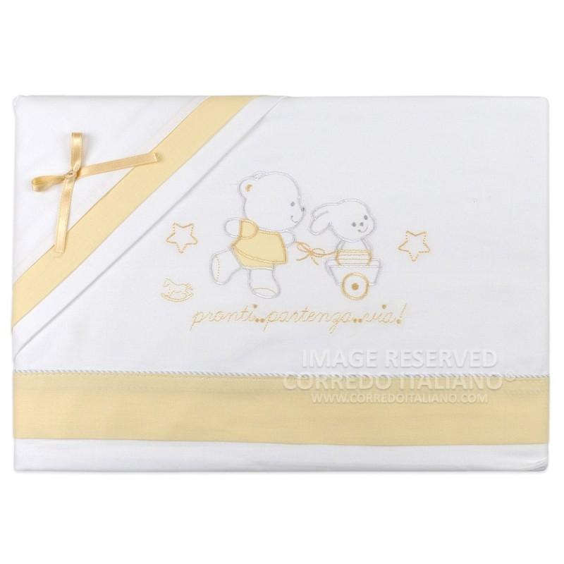 Cot bed sheet set art. 764VV