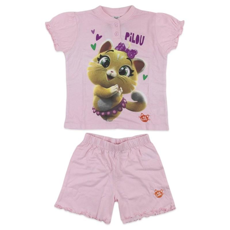 44 Gatti - pigiama bambina corto